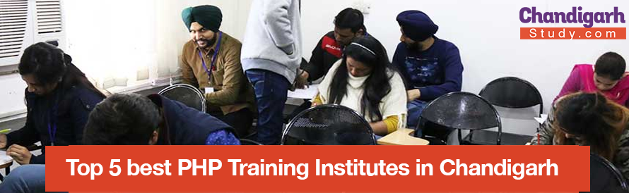Top 5 best PHP Training Institutes in Chandigarh
