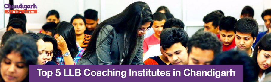 Top 5 LLB Coaching Institutes in Chandigarh