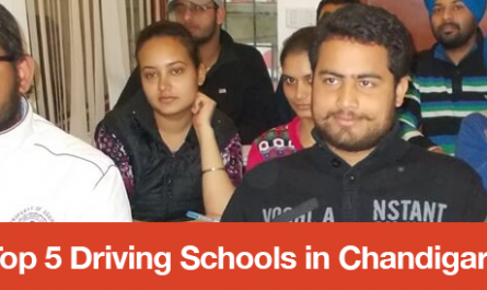 Top 5 Driving Schools in Chandigarh