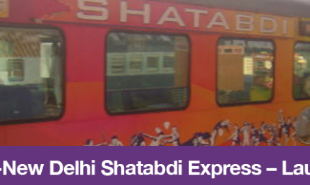 Chandigarh-New Delhi Shatabdi Express – Launched