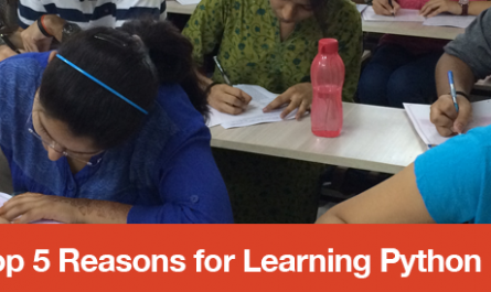 Top 5 Reasons for Learning Python