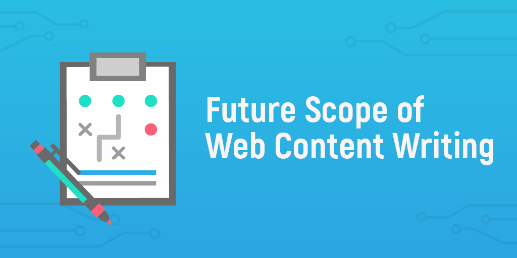 scope of web content writing