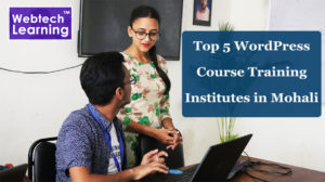 Top 5 WordPress Course Training Institutes in Mohali