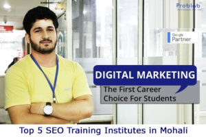 Top 5 SEO Training Institutes in Mohali
