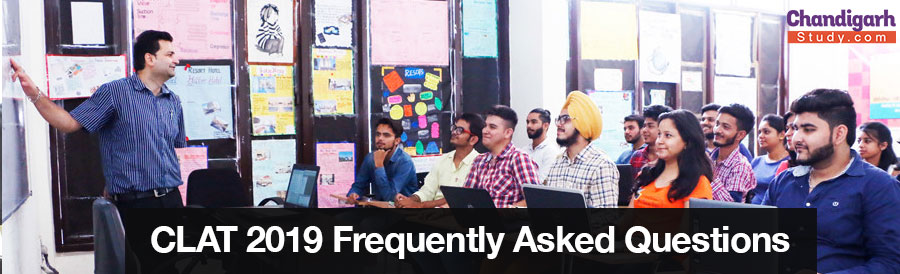 CLAT 2019 Frequently Asked Questions (FAQs)