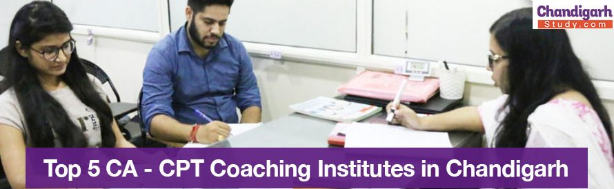 Top 5 CA – CPT Coaching Institutes in Chandigarh