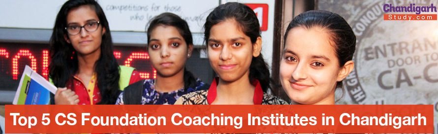 Top 5 CS Foundation Coaching Institutes in Chandigarh