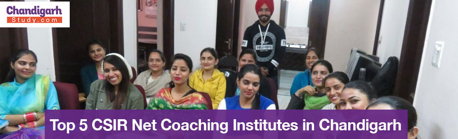 Top 5 CSIR Net Coaching Institutes in Chandigarh