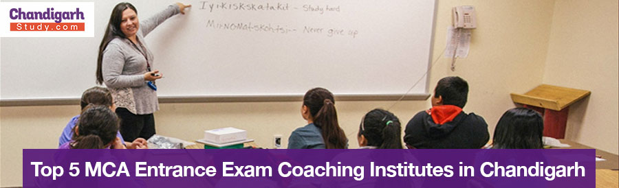 Top 5 MCA Entrance Exam Coaching Institutes in Chandigarh