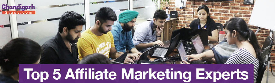 Top 5 Affiliate Marketing Experts in India