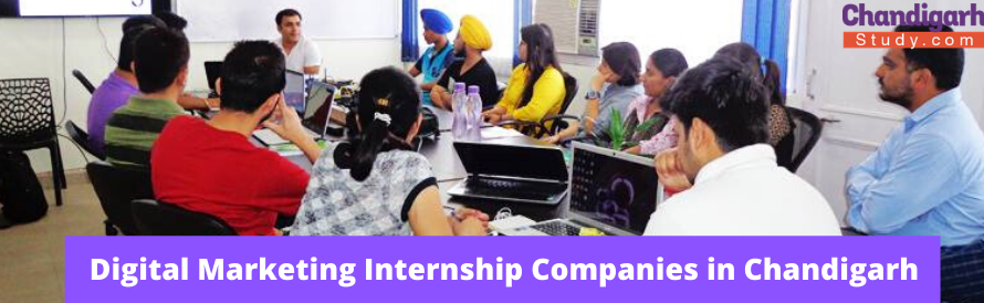 Top 5 Digital Marketing Internships Companies in Chandigarh