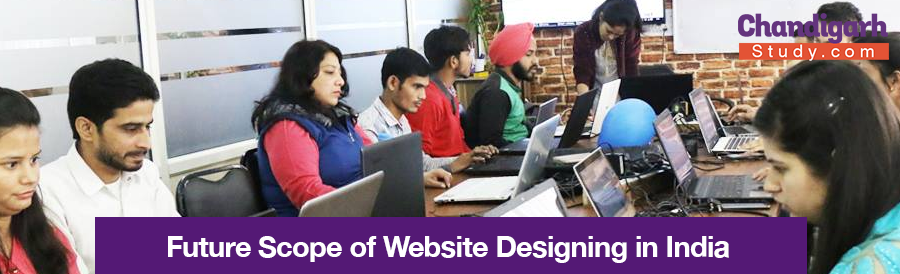 Future Scope of Website Designing in India: