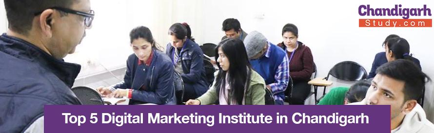 Top 5 Digital Marketing Institute in Chandigarh