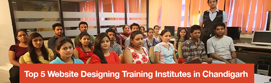 Top 5 Website Designing Training Institutes in Chandigarh