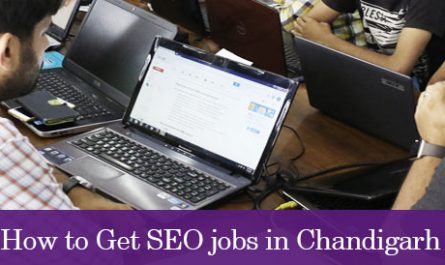 How to Get SEO jobs in Chandigarh