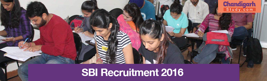 SBI Recruitment 2016