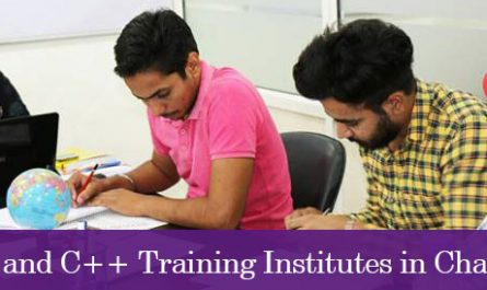 Top 5 C and C++ Training Institutes in Chandigarh