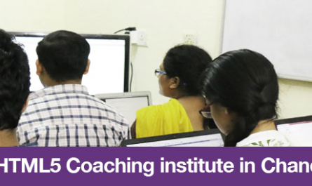 Top 5 HTML5 Coaching institute in Chandigarh