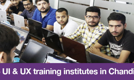 Top 5 UI & UX training institutes in Chandigarh