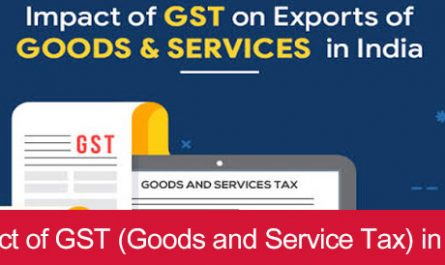 Impact of GST (Goods and Service Tax) in India