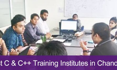 5 Best C & C++ Training Institutes in Chandigarh