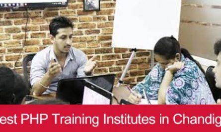 5 Best PHP Training Institutes in Chandigarh