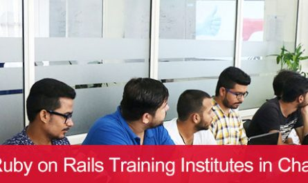 5 Best Ruby on Rails Training Institutes in Chandigarh