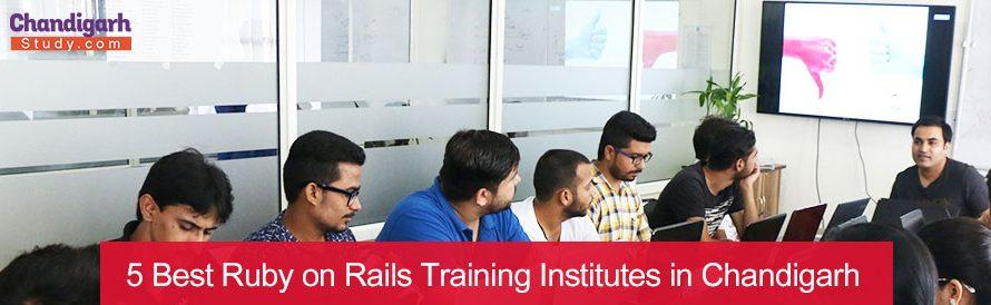 5 Best Ruby on Rails Training Institutes in Chandigarh