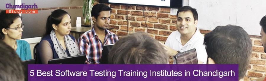 5 Best Software Testing Training Institutes in Chandigarh