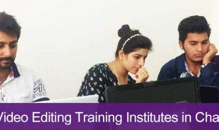 5 Best Video Editing Training Institutes in Chandigarh