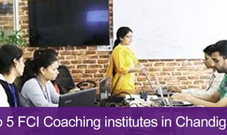 Top 5 FCI Coaching institutes in Chandigarh