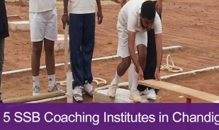 Top 5 SSB Coaching Institutes in Chandigarh