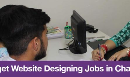 How to get Website Designing Jobs in Chandigarh?