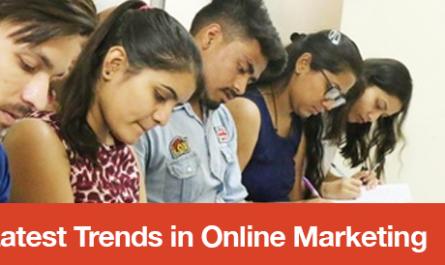 Latest Trends in Online Marketing