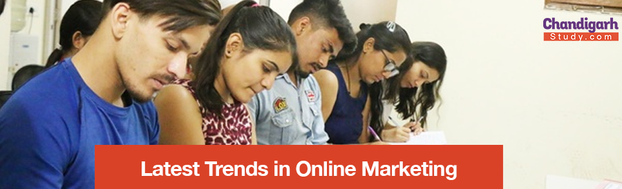 Latest Trends in Online Marketing
