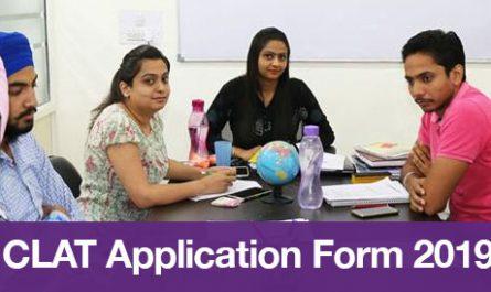 CLAT Application Form 2019