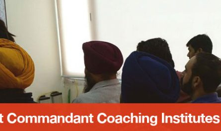 Top 5 Assistant Commandant Coaching Institutes in Chandigarh