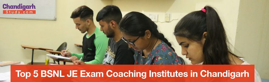 Top 5 BSNL JE Exam Coaching Institutes in Chandigarh
