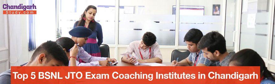 Top 5 BSNL JTO Exam Coaching Institutes in Chandigarh
