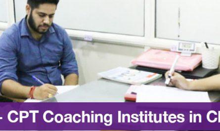 Top 5 CA - CPT Coaching Institutes in Chandigarh