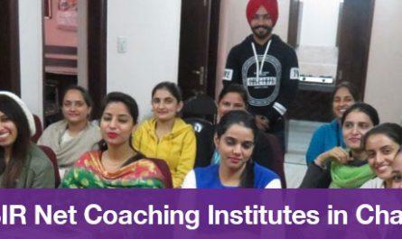 Top 5 CSIR Net Coaching Institutes in Chandigarh