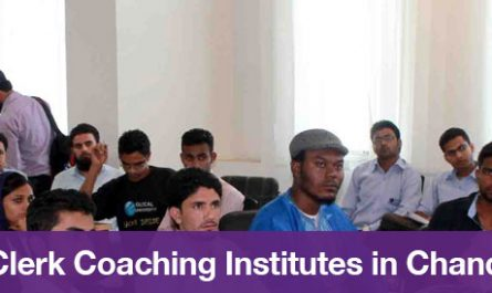 Top 5 Clerk Coaching Institutes in Chandigarh