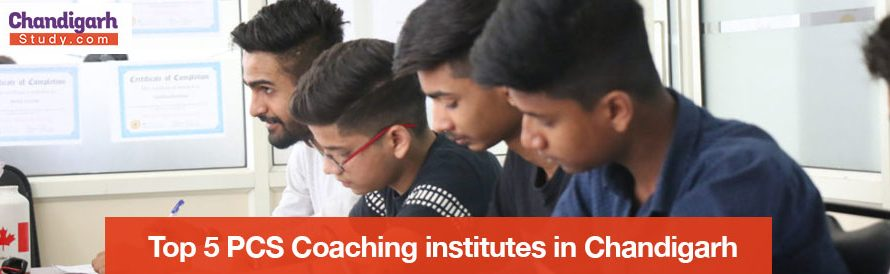 Top 5 PCS Coaching institutes in Chandigarh