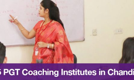 Top 5 PGT Coaching Institutes in Chandigarh