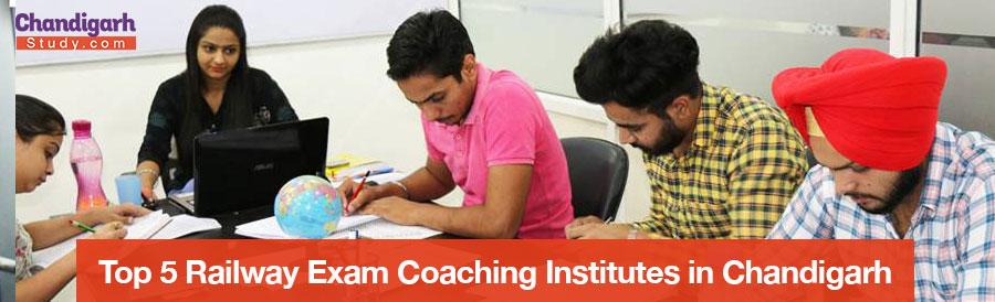 Top 5 Railway Exam Coaching Institutes in Chandigarh