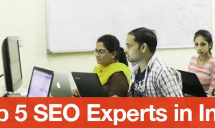 Top 5 SEO Experts in India