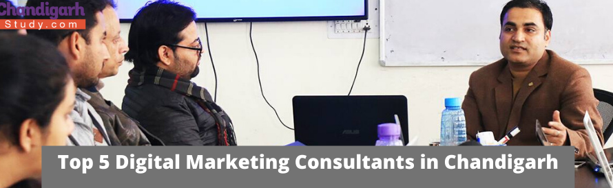 Top 5 Digital Marketing Consultants in Chandigarh