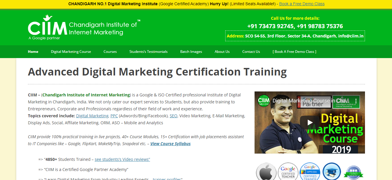 Youtube-Promotion-Training-Institute-In-Chandigarh