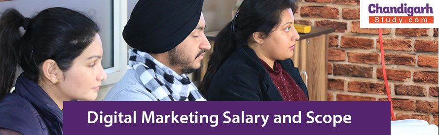 Digital Marketing Salary and Scope