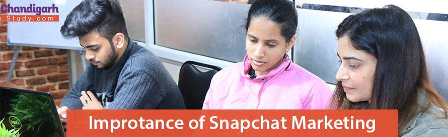 Improtance of Snapchat Markeitng